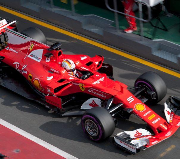 Sebastian Vettel w GP Kanady